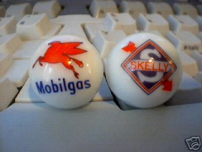 MOBILGAS - SKELLY MARBLES