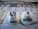 BATMAN - ROBIN MARBLES
