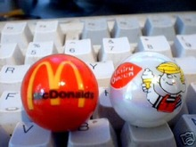 McDONALD'S AND DAIRY QUEEN MARBLES