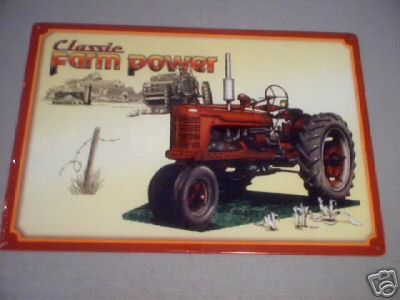 CLASSIC FARM POWER SIGN