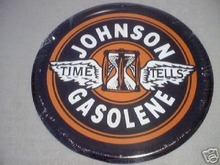 JOHNSON GASOLENE SIGN