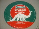 SINCLAIR OPALINE MOTOR OIL SIGN