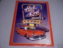 HOT ROD HEAVEN TIN SIGN