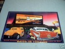 DRIVE-IN THEATER TIN SIGN