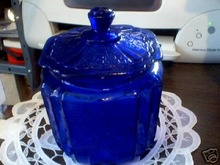COBALT CRACKER JAR