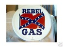 REBEL GAS METAL SIGN