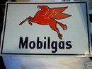 MOBILGAS TIN SIGN