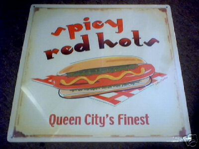 SPICY RED HOT SIGN