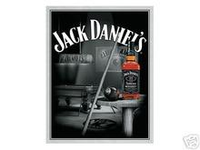 JACK DANIELS POOL ROOM METAL SIGN