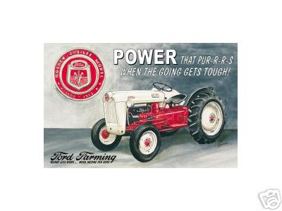 FORD JUBILEE TRACTOR SIGN