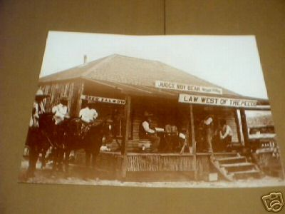 JUDGE ROY BEAN PRINT