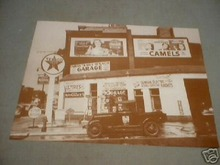 TEXACO GAS STATION PRINT