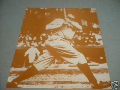 BABE RUTH PRINT PRINT PICTURE