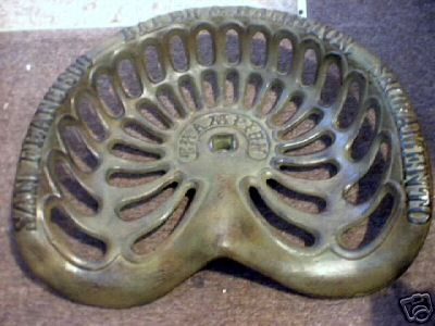 CHAMPION TRACTOR SEAT CAST IRON