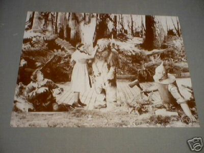 WIZARD OF OZ PRINT PICTURE