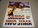 JOHN WAYNE - SANDS OF IWO JIMA SIGN