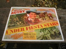 GENE AUTRY MOVIE POSTER PRINT