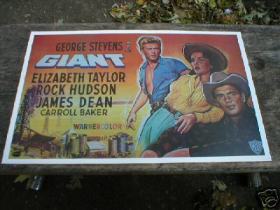 ELIZABETH TAYLOR MOVIE POSTER PRINT