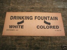 DRINKING FOUNTAIN WHITE COLORED PRINT