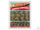 REMINGTON SPORTING CARTRIAGES TIN SIGN