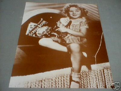 SHIRLEY TEMPLE SCREEN BOOK PRINT