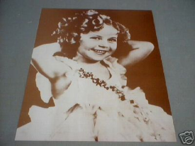 SHIRLEY TEMPLE - HANDS BEHIND HEAD - PRINT