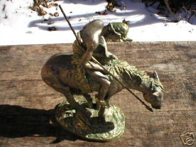 END OF THE TRAIL STATUE NEW COLLECTIBLE