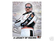 DALE EARNHARDT SR. LEGACY TIN SIGN