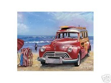 SURFIN' USA METAL TIN SIGN