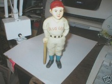 CAST  IRON  BASEBALL PLAYER