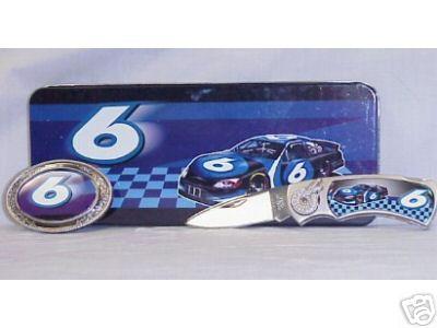 # 6 RACE CAR COLLECTOR KNIFE