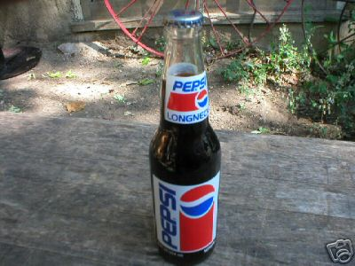 RICHARD PETTY PEPSI  POP BOTTLE