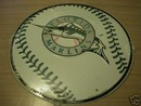 FLORIDA MARLINS BASEBALL METAL SIGN