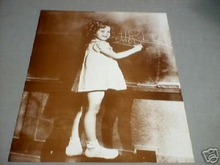 SHIRLEY TEMPLE AT CHALKBOARD PRINT