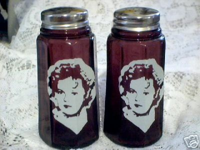 SHIRLEY TEMPLE AMETHYST SALT AND PEPPERS