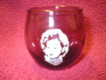 SHIRLEY TEMPLE AMETHYST VOTIVE HOLDER