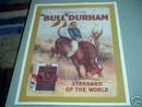 LARGE BULL DURHAM PRINT