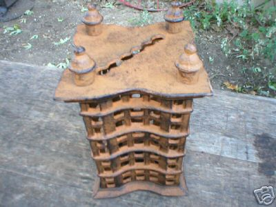 CAST IRON HIGH-RISE BUILDING BANK