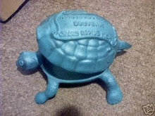 CAST IRON TURTLE IRONWARE DECOR T