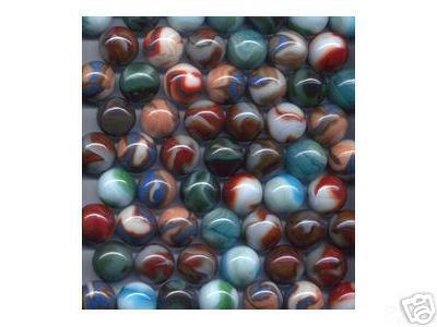 ONE INCH SHOOTER MARBLES 2 POUNDS