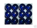 COBALT SHOOTER MARBLES TWO POUNDS ONE INCH
