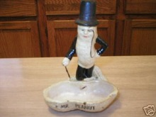 MR. PEANUT ASHTRAY CAST IRON COLLECTIBLE VINTAGE STYLE