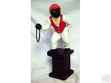 CAST IRON JOCKEY  COLLECTOR'S ITEM NR