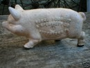 CAST IRON PIG BANK IOWA COLLECTOR'S ITEM NR