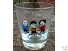 THREE STOOGES SHOTGLASS