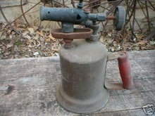 OLD BRASS BLOWTORCH IOWA COLLECTORS ITEM
