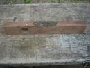 OLD ANTIQUE WOOD LEVEL NR