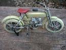 HD MOTORCYCLE BIKE CAST IRON