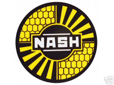 NASH STEEL METAL SIGN