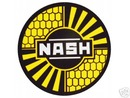 NASH STEEL METAL SIGN